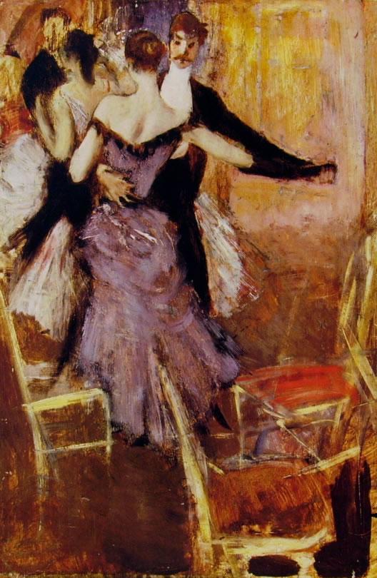 Giovanni Boldini: Ballerina in Mauve