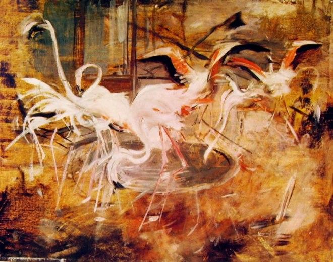 """Giovanni Boldini: Ibis nel """"Palais rose"""" al Vesinet"""