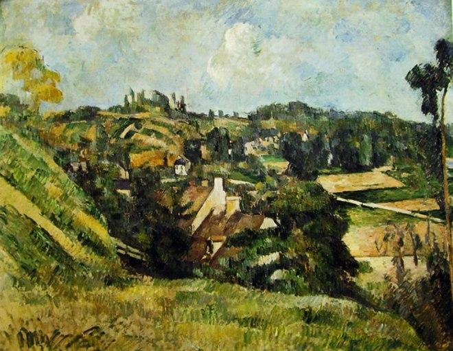 Paul Cezanne: Auvers vista dalla Val Harme