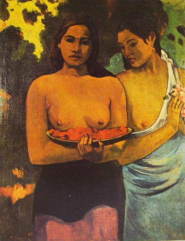 Due donne tahitiane