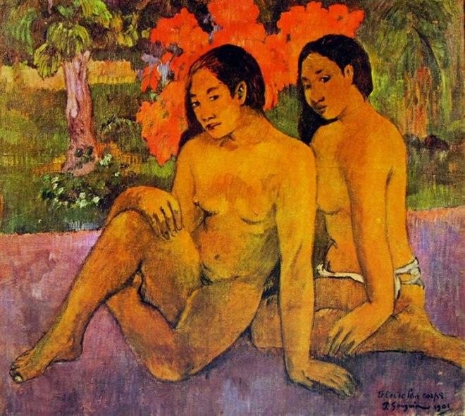 Gauguin ..... e l'oro dei loro corpi