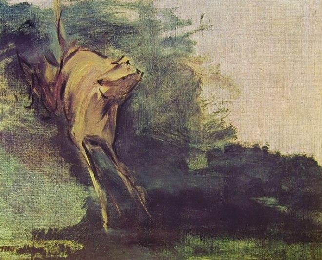 Edouard Manet: Il levriere