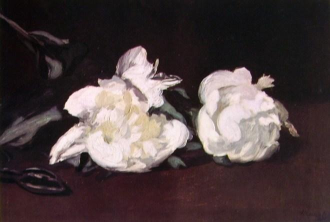Edouard Manet - Natura morta con peonie