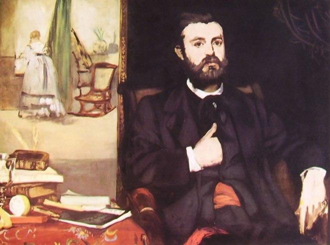 Edouard Manet: Ritratto di Zacharie Astruc
