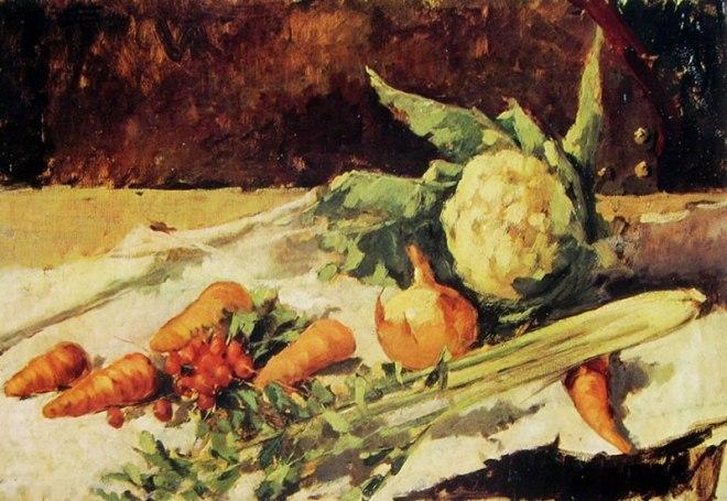 Segantini - Natura morta con carote