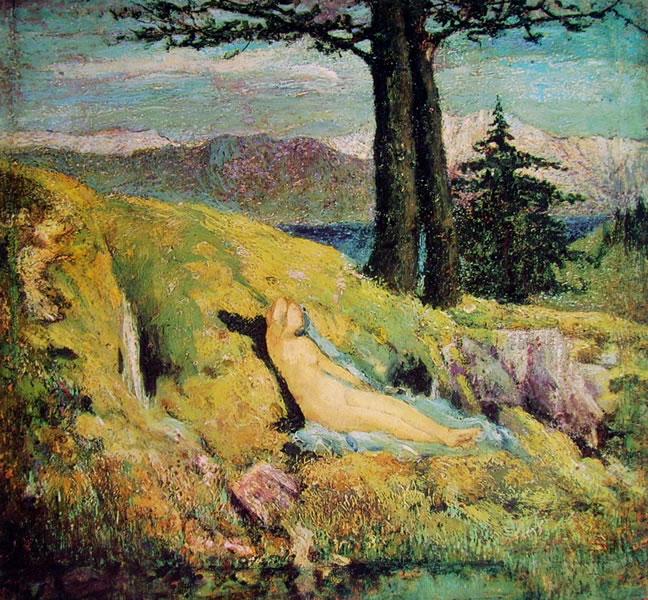 Giovanni Segantini: La sorgente