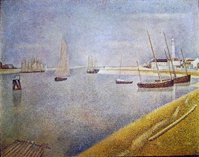 Georges-Pierre Seurat: Il canale di Gravelines