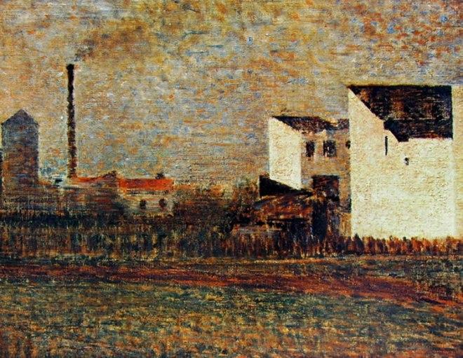 Georges-Pierre Seurat: Case in periferia