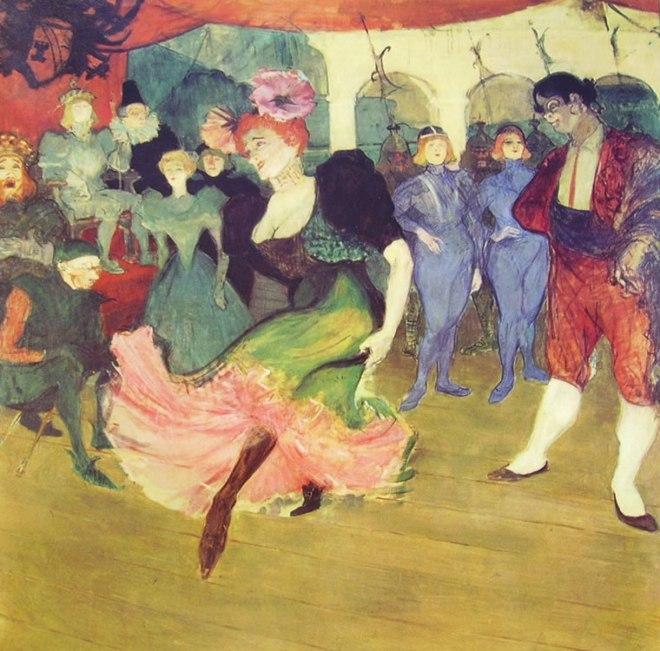 Toulouse-Lautrec: Marcelle Lender danza il bolero in Chilperic