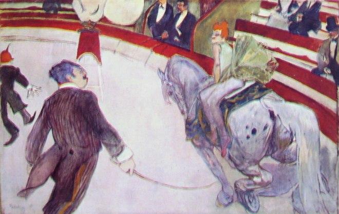 Toulouse-Lautrec: Al circo Fernando - Cavallerizza