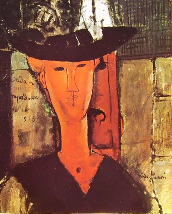 Amedeo Modigliani: Madam Pompadour