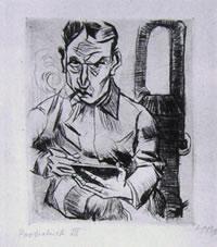 Autoritratto di Max Pechstein