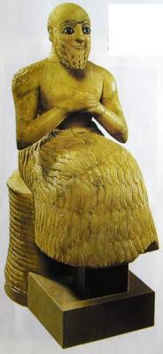 L'intendente di Ebih. Mari, 2400 a.C., Musée ddu Louvre, Parigi