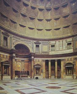 Interno del Panteon