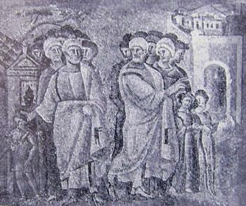 Abramo e Loth (Santa Maria Maggiore, Roma)