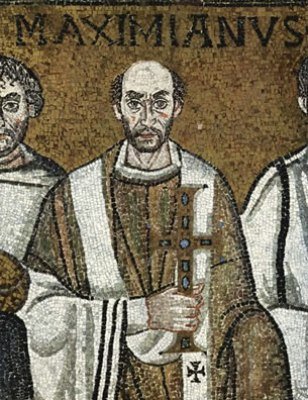 Vescovo Massimiano (San Vitale, Ravenna)