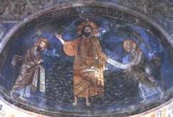 Affreschi nella chiesa di San Silvestro, Tivoli