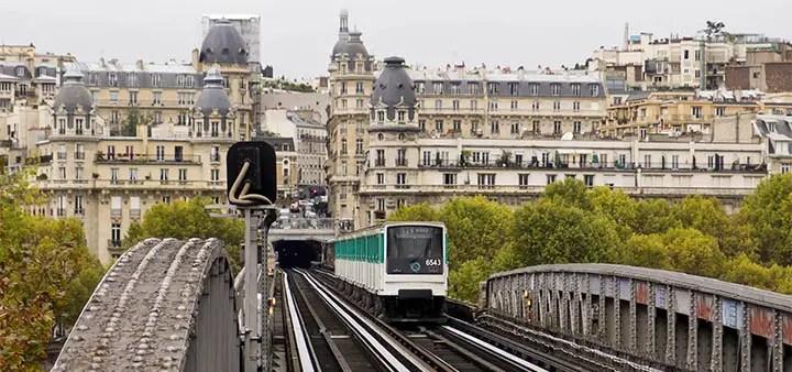 Public transport in Paris (Metro, RER, bus, tram)