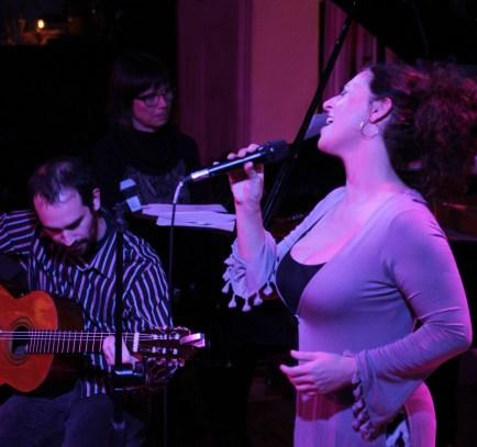 Nuevo club de Jazz F: Patricia Alegria