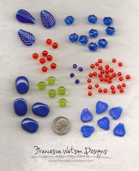 Pantone Monaco Blue - Limited Edition Bead Mix