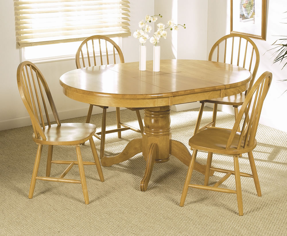 Worcester round extending dining table and 4 chairs saveenlarge · foxy