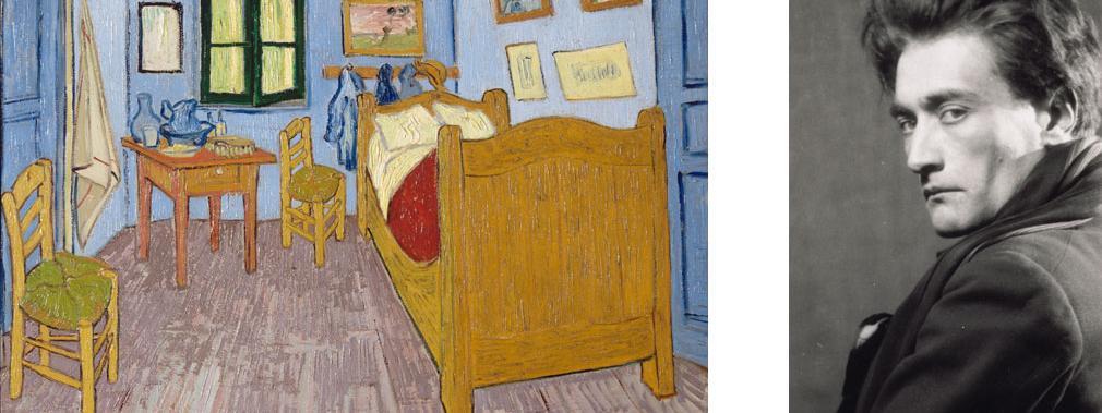 Van Gogh dans l\u0027oeil d\u0027Artaud au Musée d\u0027Orsay - Description De La Chambre De Van Gogh