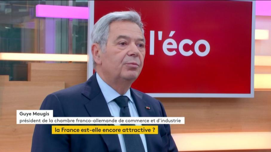 VIDEO Guye Maugis  \ - Chambre De Commerce Franco Allemande