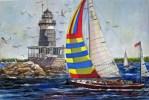 Crossing Harbor Light