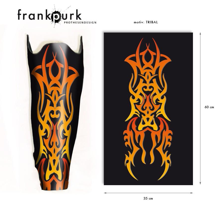 Dekostrumpf - Tribal Design