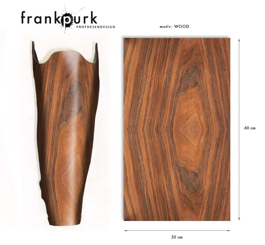 Dekostrumpf - Holz Design