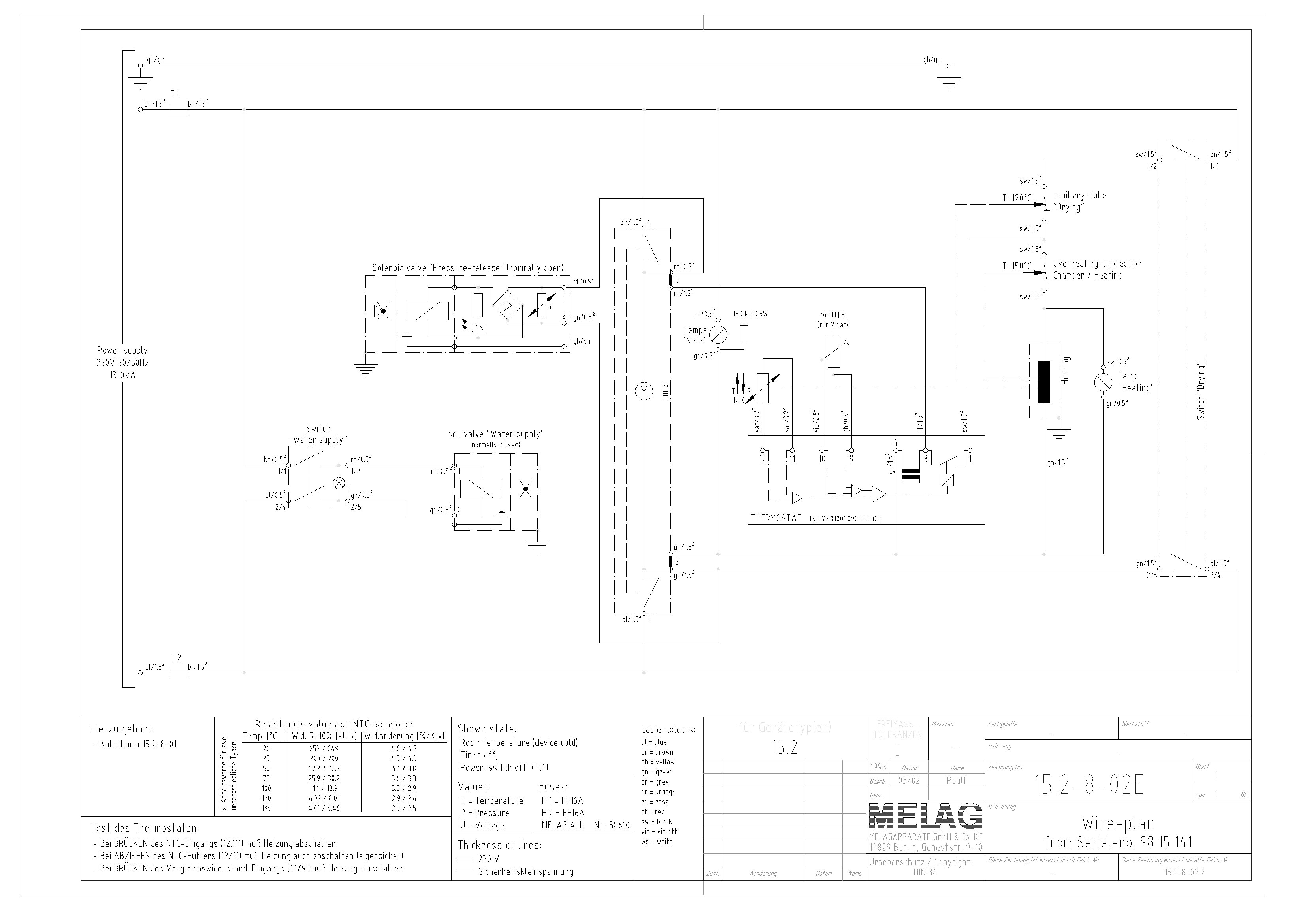 electrical schema cablage for hospital