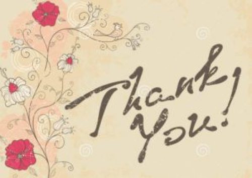 Top 46 Lovely Thank U Sms 2016