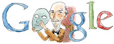 Google doodle - Luigi Pirandello