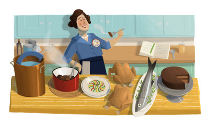 Google-doodle-Julia-Child