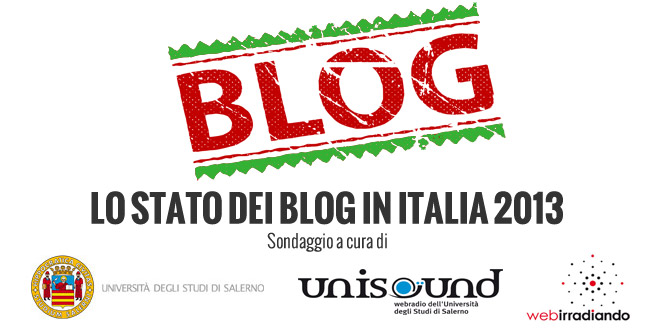 Sondaggio Blog in Italia 2013