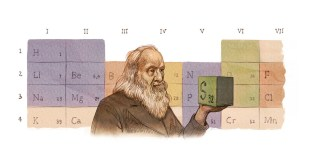 mendeleev tavola periodica