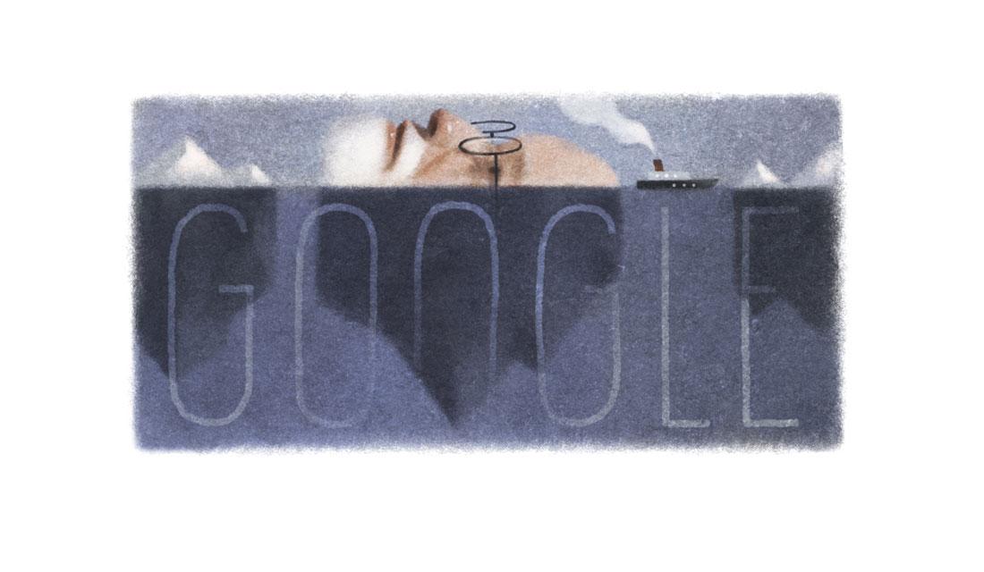 Il doodle di Google oggi per i 160 anni di Sigmund Freud