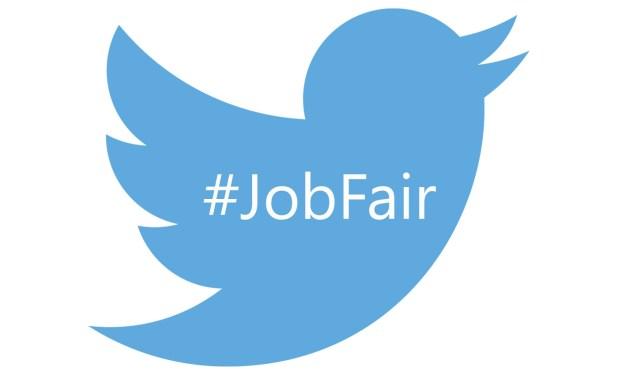 twitter #jobfair