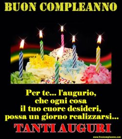 BUON COMPLEANNO ANDRE'74***