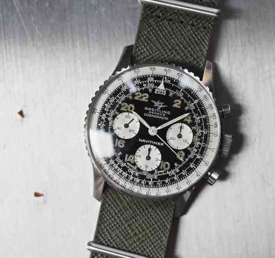 Breitling 809 Cosmonaute cover shot