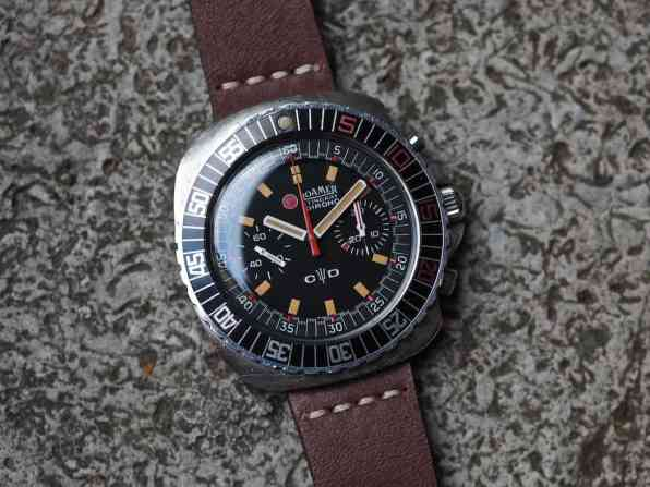 Casting the Roamer Stingray Chrono Diver as a simple c-case 70's chrono would be a real mistake as there is so much more happening here
