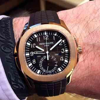 Hands-On - Patek Philippe Aquanaut Travel Time 5164R