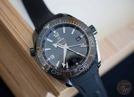 Omega Seamaster Planet Ocean Deep Black