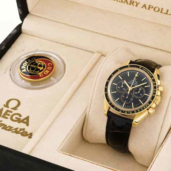Gold Speedmaster Apollo - Soyuz 20th Anniversary