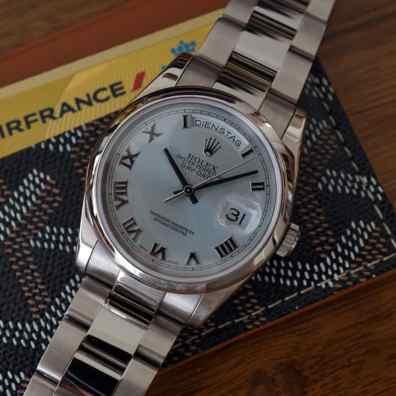 Rolex Day-Date 118209 - Photo by Geo