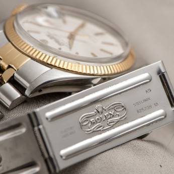 Rolex Datejust 6605 With German Writing On The Dial