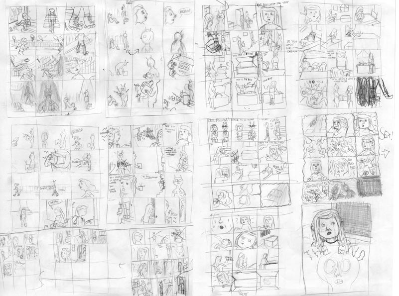 Frau Franz » » Comic Chaos
