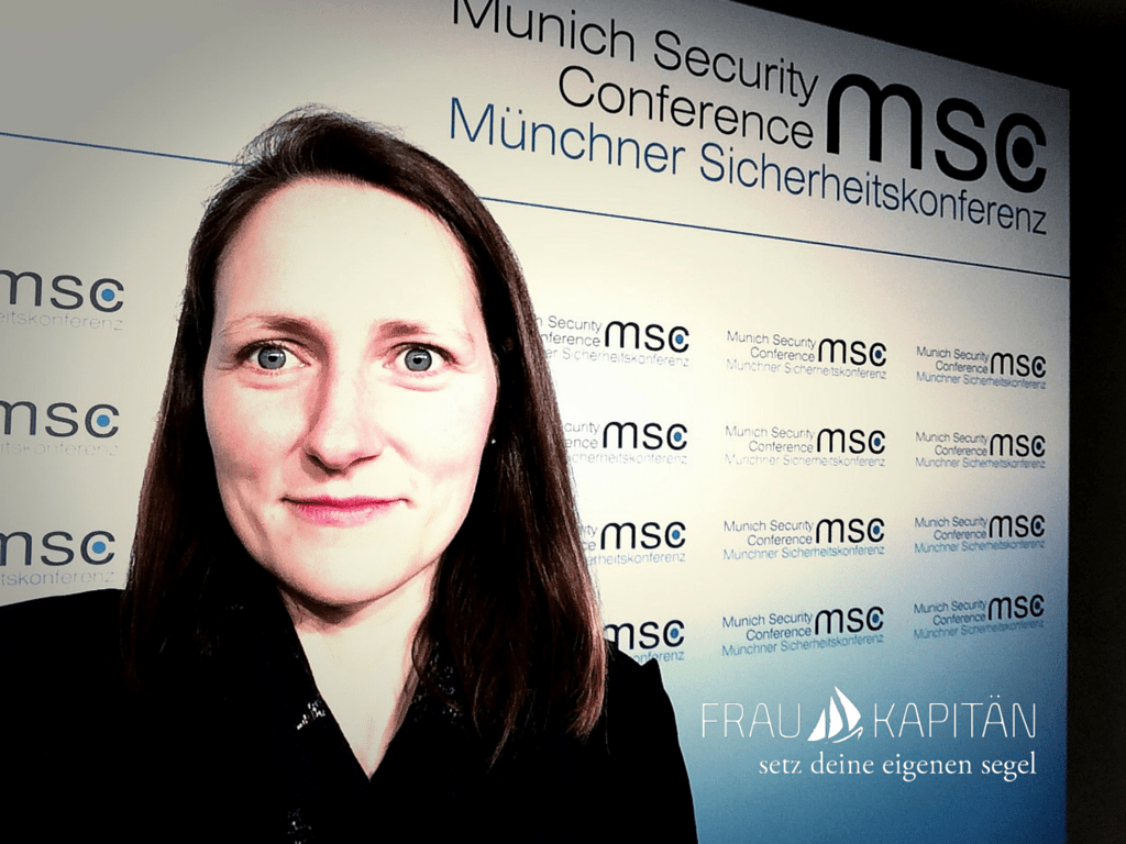 Andrea Brinkmann fragt _MSC2016 - Men Security Conference_!