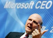 Microsoft CEO Steve Ballmer
