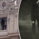 Ghostly figure spotted at Vatican church